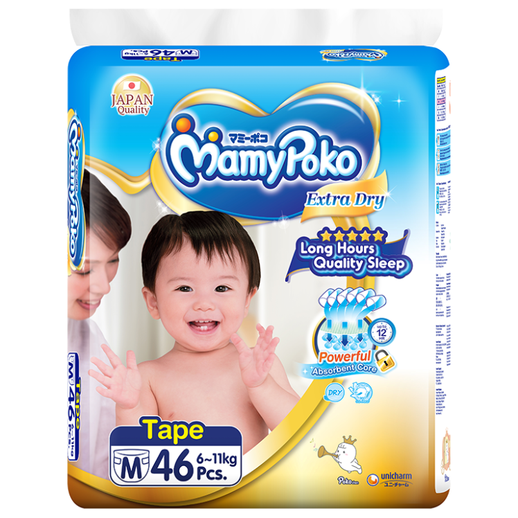 MamyPoko Tape Extra Dry Skin / Size M